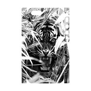 LaiMc New Fashion Cover 3D Case for iPhone 6 plus 5.5 with custom Tiger