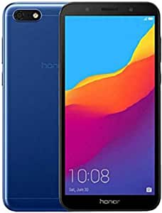 "Honor 7S (16 GB, 2 GB RAM) DUA-LX3 Dual-SIM, visualización de visión completa de 5,45"", 4G LTE GSM Factory Unlocked International Model, Azul"