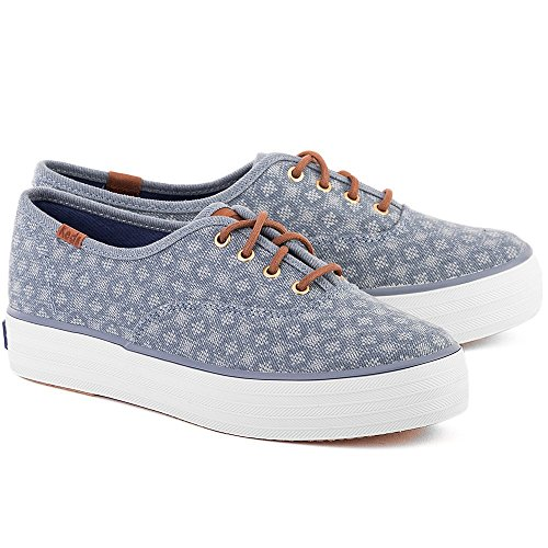 Keds Triple Diamond Dot 710 Damen Turnschuhe (Blue)