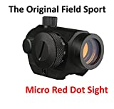 micro dot sight - FieldSport Micro Red Dot Sight, Precision Red Dot Only No Green