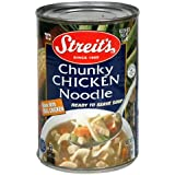 Streit's Canned Soup, Chunky Chicken Noodle, 15-Ounce Cans (Pack of 12)