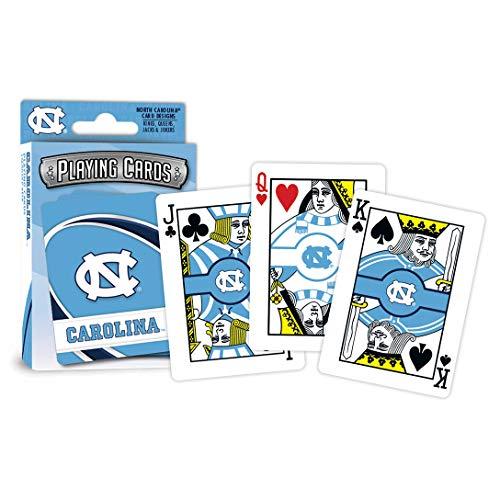(MasterPieces NCAA North Carolina Tar Heels Playing Cards)