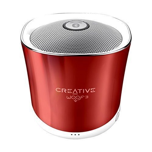 Creative Woof 3 Bluetooth Wireless Speaker (Rouge Red)