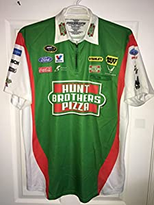 XL Elliott Sadler PETTY PIT CREW SHIRT NASCAR Sprint Cup Ford Racing Hunt Brothers Pizza 1/4 ZIP
