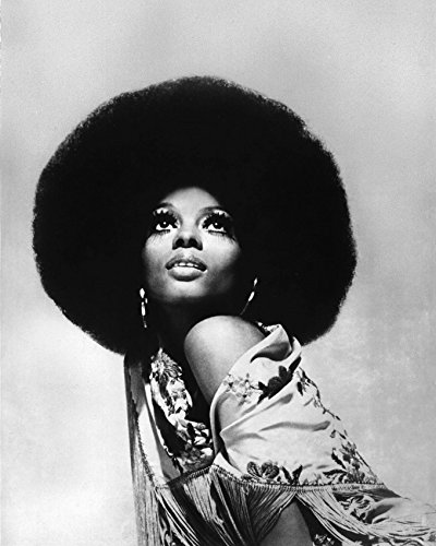 Diana Ross 16x20 Canvas Iconic Photo Afro Hairstyle Stunning Eye Makeup (1970 Makeup)