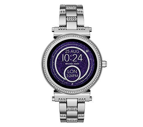 Michael Kors Access Sofie Silvertone Touchscreen Smart Watch
