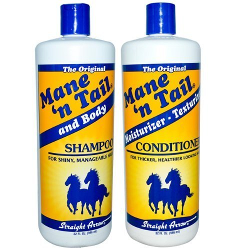Mane 'N Tail Combo Deal Shampoo and Conditioner, 32-Ounce (Pack 3) , Mane-dg