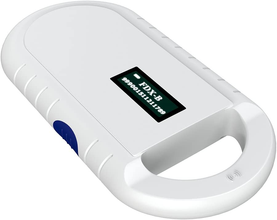 Tangxi Microchip Scanner 134.2KHz FDX-B ISO 11784//11785 ID64 RFID Handheld Animal Chip Reader