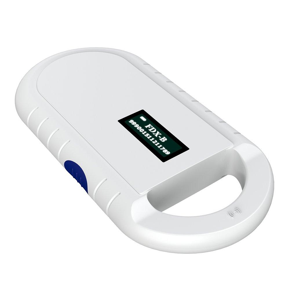 Tangxi Microchip Scanner 134.2KHz FDX-B ISO 11784/11785 ID64 RFID Handheld Animal Chip Reader by Tangxi