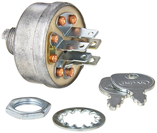 Stens 430-249 Starter Switch Replaces John Deere AM103286 Toro 12-8140 Ariens 03115200 Jacobsen 129846 National 1A808B John Deere AM32318 Gravely 019223