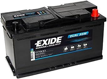 Exide - Batería para camión EP1500 12V 180Ah 900 - Batería(s)
