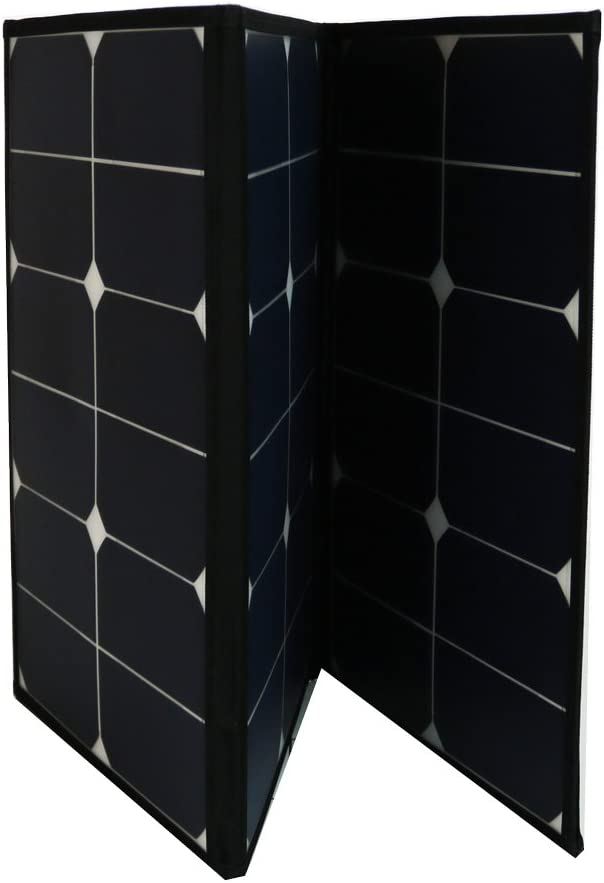 Aims 60 Watt Portable Foldable Solar Panel with Built in Carrying Case