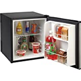 Appliances : Avanti SHP1712SDC-IS Superconductor Refrigerator AC/DC with Stainless Steel Door, Black