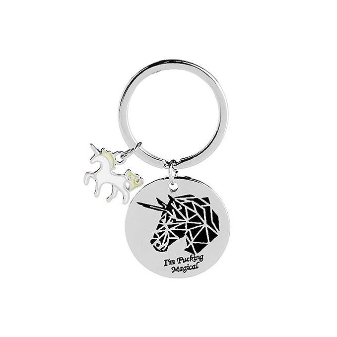 Amazon.com: Unicornio I m Fucking mágico con sello de ...