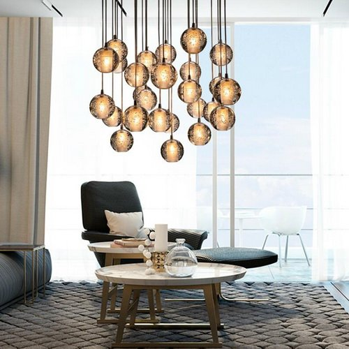 LightInTheBox Pendant Light G4 Retroifit 3W Chrome Plating Crystal Modern/Contemporary Pendant Lamp Chandelier for Dining Room