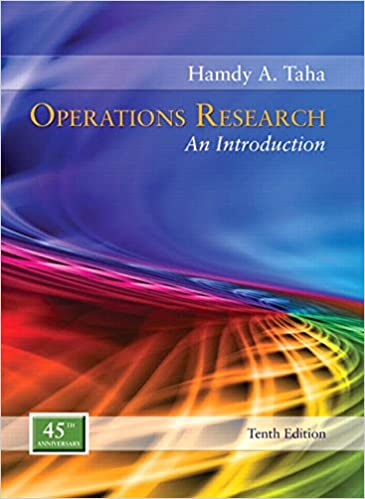 Operations research an introduction 10th edition hamdy a taha operations research an introduction 10th edition 10th edition fandeluxe