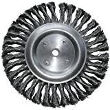 8 Inch Knotted Wire Wheel Brush-2Pack