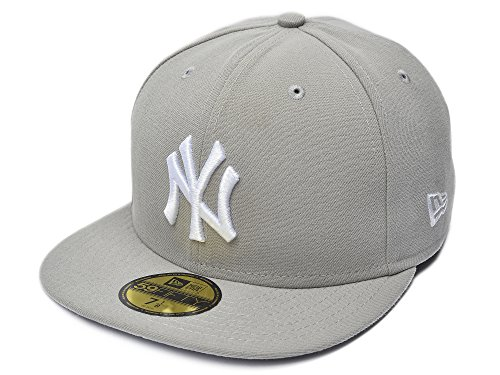 Basic Gray 59fifty Fitted Cap - 8