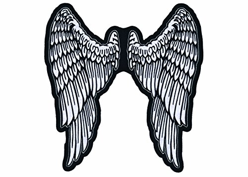 Lethal Threat LT30159 Angel Wings Embroidered Patch (11