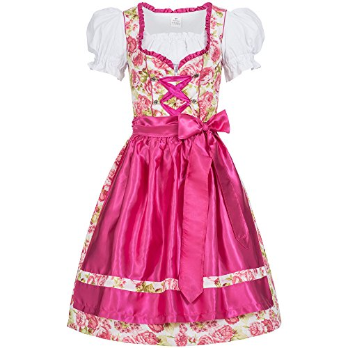 Gaudi-leathers Women's German Dirndl Dress Costumes for Bavarian Oktoberfest Carnival Halloween Mimi 34 -