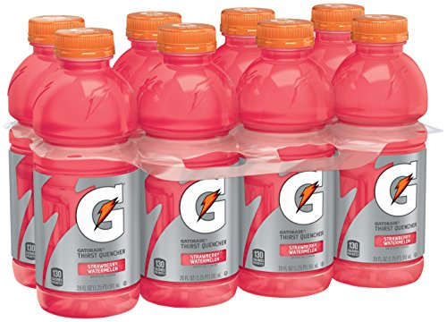 Gatorade Thirst Quencher, Strawberry Watermelon, 20 Ounce (8 - Ounce 20 Beverage