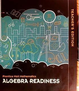 Amazon middle grades math 2010 student edition algebra prentice hall mathematics algebra readiness teachers edition fandeluxe Gallery