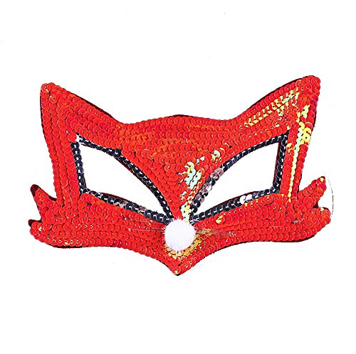 Cry Baby Movie Halloween Costume (Chrismas Party Masks Cosplay Festival Performance Fox Mask Half Face Animal Masks)