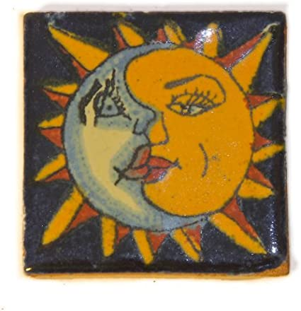 Fairly Traded Hand Painted Ceramic Mexican Tile by Tumia LAC