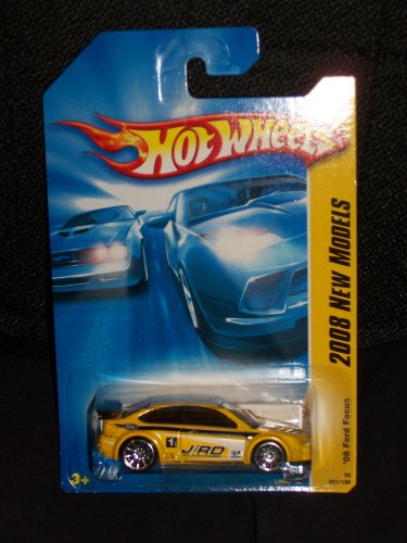 Hot Wheels 2008 031 31 New Models Yellow '08 Ford Focus 1:64 Scale (Ford Focus Model compare prices)