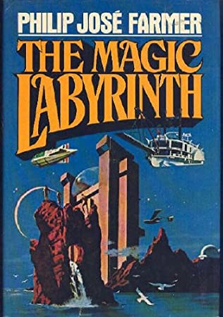 book cover of The Magic Labyrinth