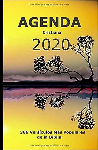 Agenda cristiana 2020: 366 días y 366 versículos bíblicos. Un ...