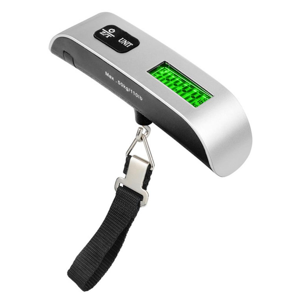 Oldeagle 50kg/10g Portable LCD Digital Hanging Luggage Scale Travel Electronic Weight