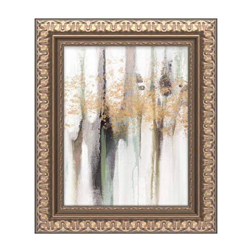 Trademark Fine Art Falling Leaf I by Studio W, Gold Ornate Frame 11x14, Multi-Color ()