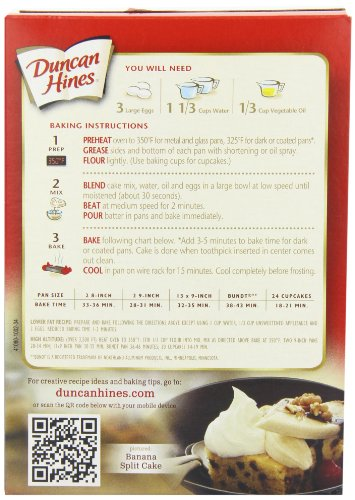 Duncan Hines Signature Banana Layer Cake Mix, 18.25-Ounce Boxes (Pack of 6) by Duncan Hines (Image #4)
