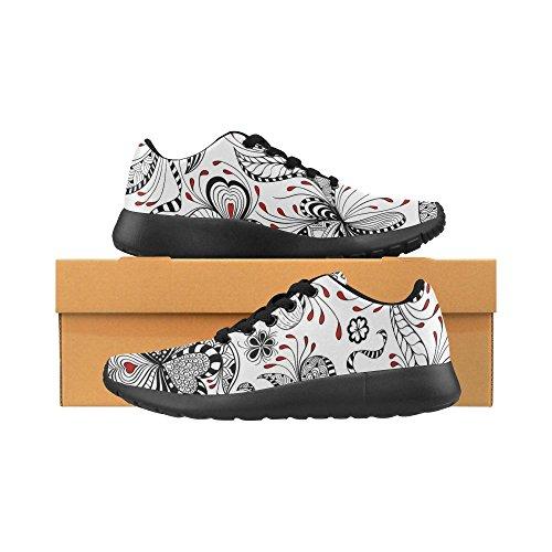 InterestPrint Shoes Lightweight Athletic Sports Womens Multi Sneaker 10 Jogging Walking Running rpErCq