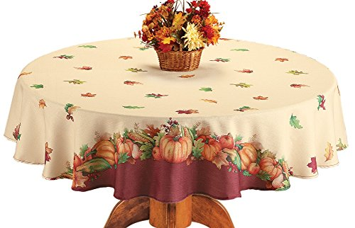 Harvest Pumpkin Tablecloth - 8