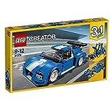 Lego Turbo Track Racer, Light Blue