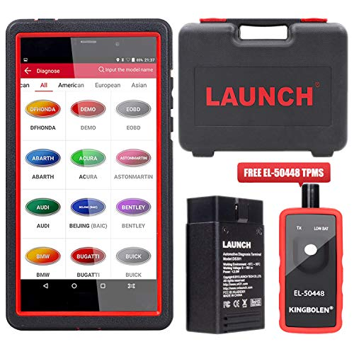 LAUNCH X431 Pro Mini Bidirectional Scan Tool Full System Scan with ECU  Coding, Injector Coding,Key Fob Programming,Oil  Reset,TPMS,BMS,SAS,DPF,EPB,ABS
