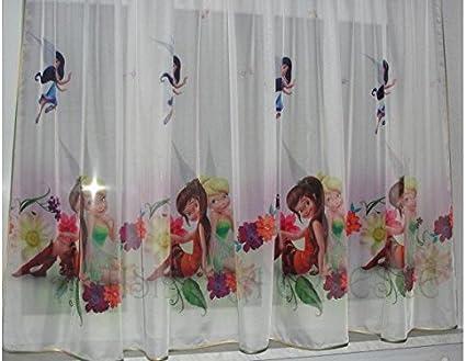 Vitrages clochette 150B x 157L chambre denfant motif dISNEY