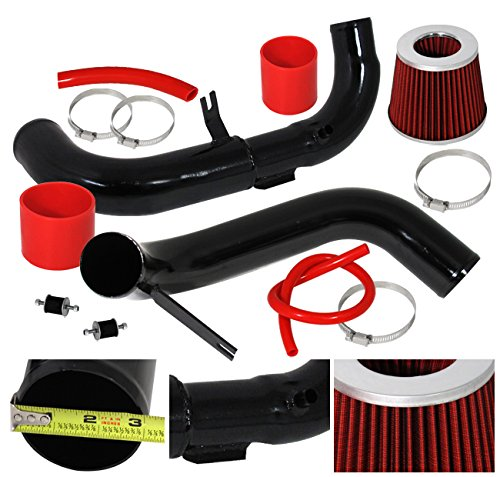 06-11 Civic Dx Fg Fa 1.8l Cold Air Intake System Induction Upgrade Power Black