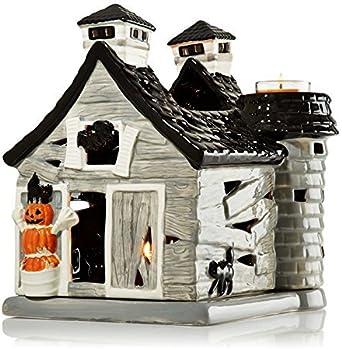 Bath And Body Works Halloween Luminary 2020 Amazon.com: Bath & Body Works Haunted Barn House Luminary   Holds