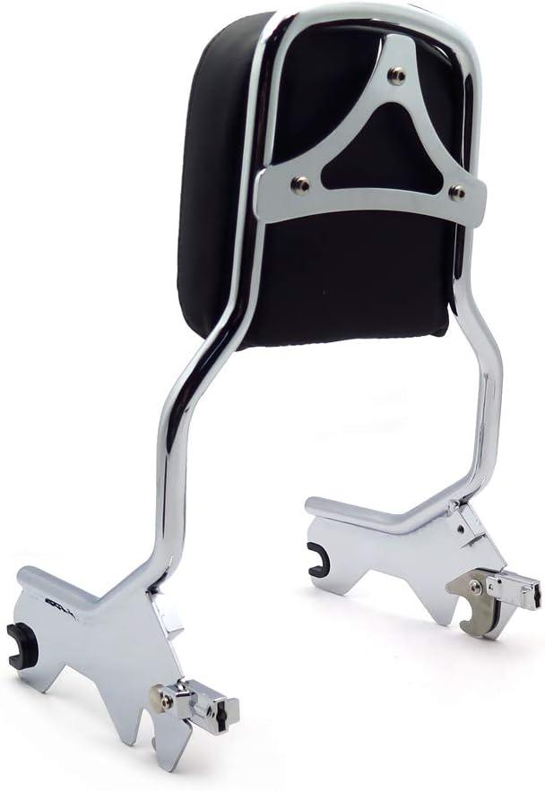 Holdfast Sport Luggage Rack Sissy Bar Upright Black Compatible With 18-later FLDE FLHC FLHCS FLSL FXBB SMT
