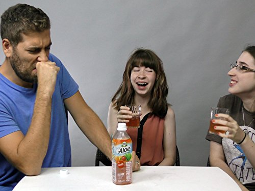- Pure Plus Aloe Vera Drink Tasting [Pomegranate]