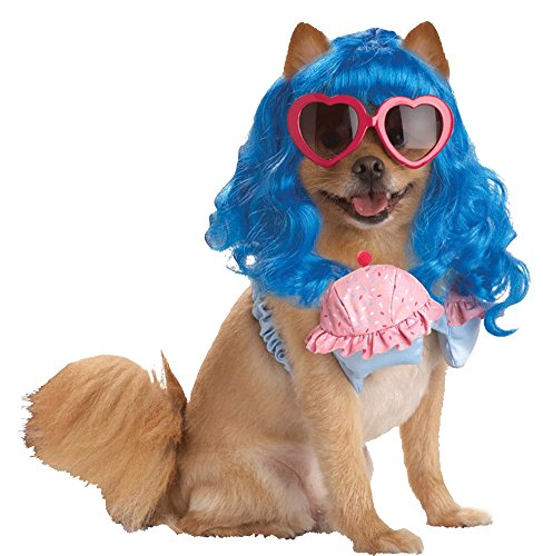 Katy Perry Cupcake Bra Costume (costume accessories - Cupcake Girl Extra-Small Cat & Dog)