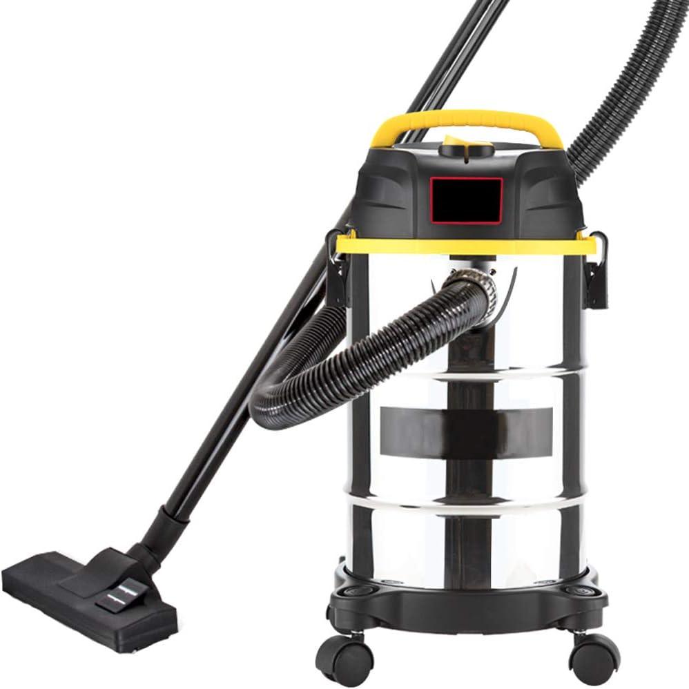TY-Vacuum Cleaner MMM@ Aspiradora Seca y húmeda Soplando Tres barriles Fuerte 800 W Alta Potencia Aspiradora Vertical portátil Ultra silenciosa 16L Decoración for el consumidor y Comercial: Amazon.es: Hogar