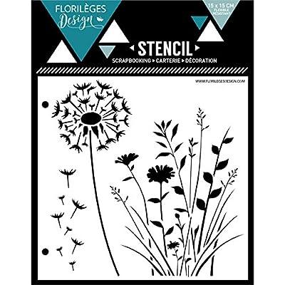Floril/èges Design FDCL114014 Tampon Scrapbooking Clear Best of 2 Gris 25 x 11,5 x 0,5 cm
