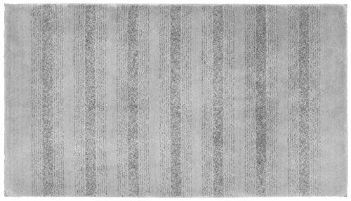 Garland Rug Essence Nylon Washable Rug, 30-Inch by 50-Inch, Platinum Gray (Garland Kohls)