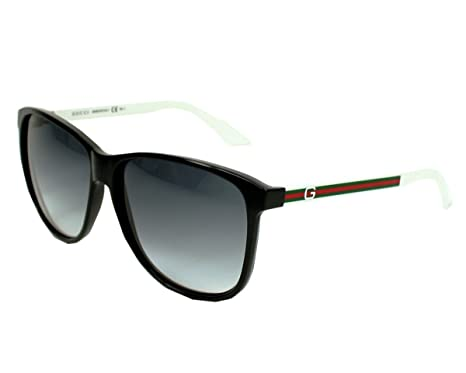 c9029d84712 Image Unavailable. Image not available for. Color  Gucci 1636 S Sunglasses  Color 0OVF JJ Black White GrayShaded