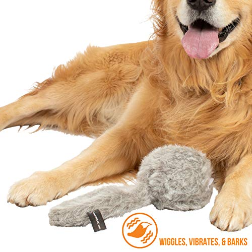 Hyper Pet Doggie Tail Interactive Plush Dog Toys (Wiggles, Vibrates, and Barks -...