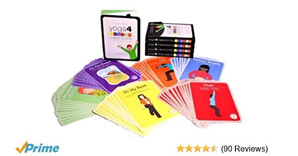 Yoga 4 Classrooms Activity Card Deck